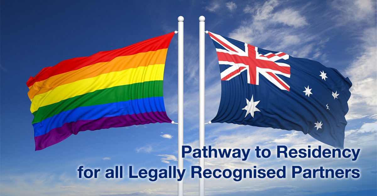 same sex marriage to permanent residency